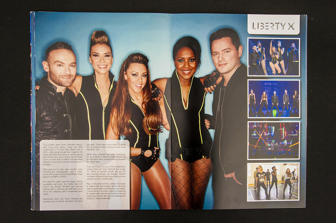 704ac2d815 We were commissioned by Global Merchandising Services to design the 2013  tour merchandise and programme for Big Reunion.